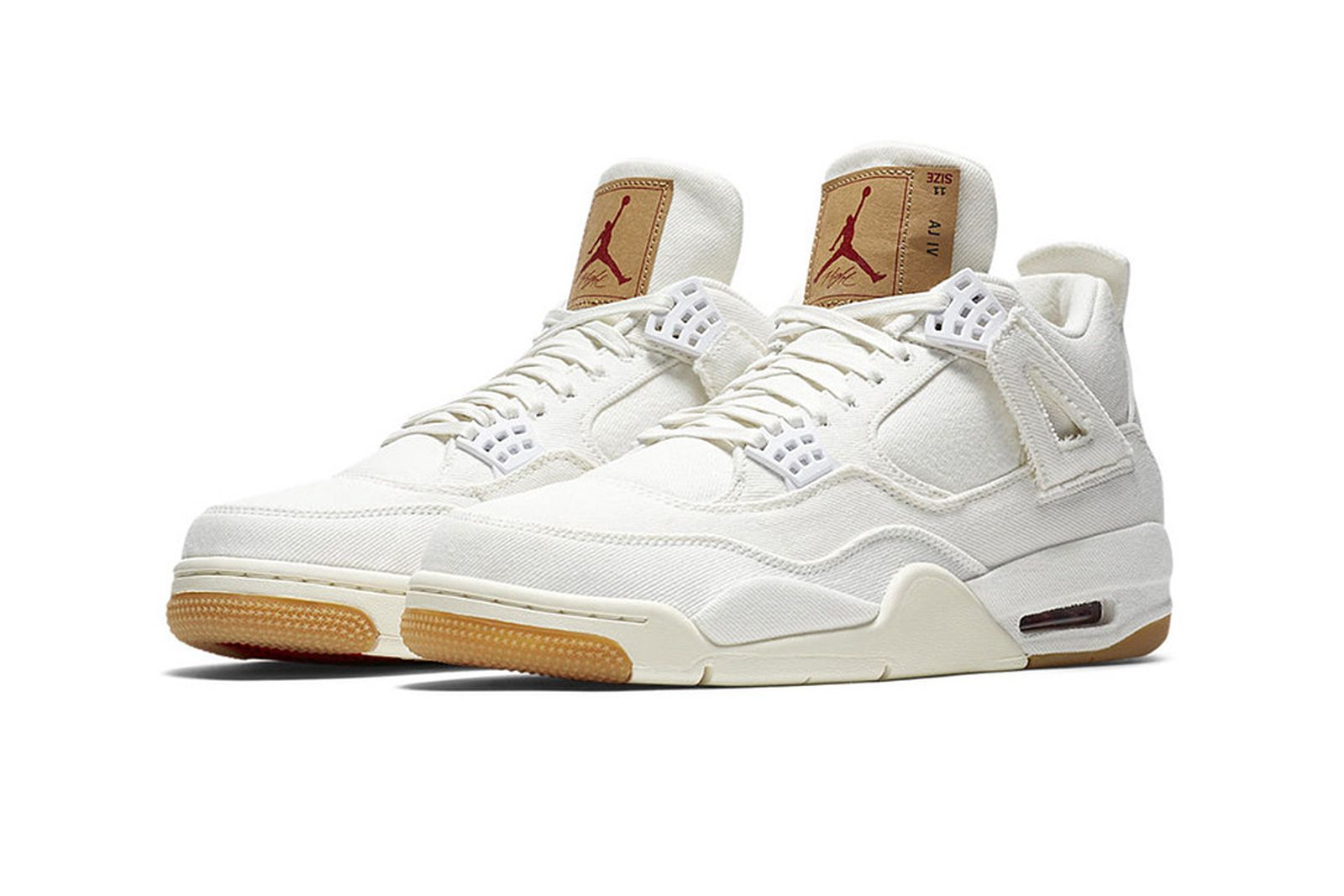 Teoría básica rasguño whisky  Levi's x Nike Air Jordan 4 White: Release Date, Price & More Info