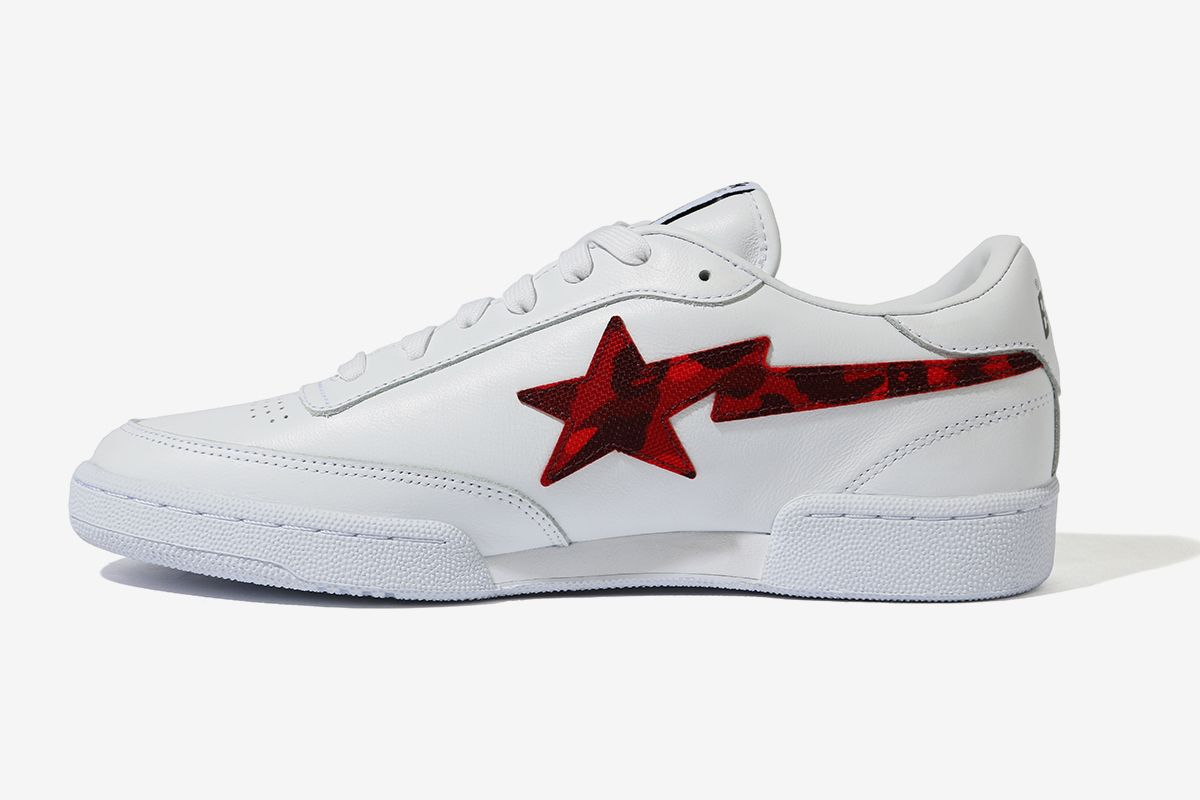 BAPE Turns Reebok's Club C Into the BAPE STA 25