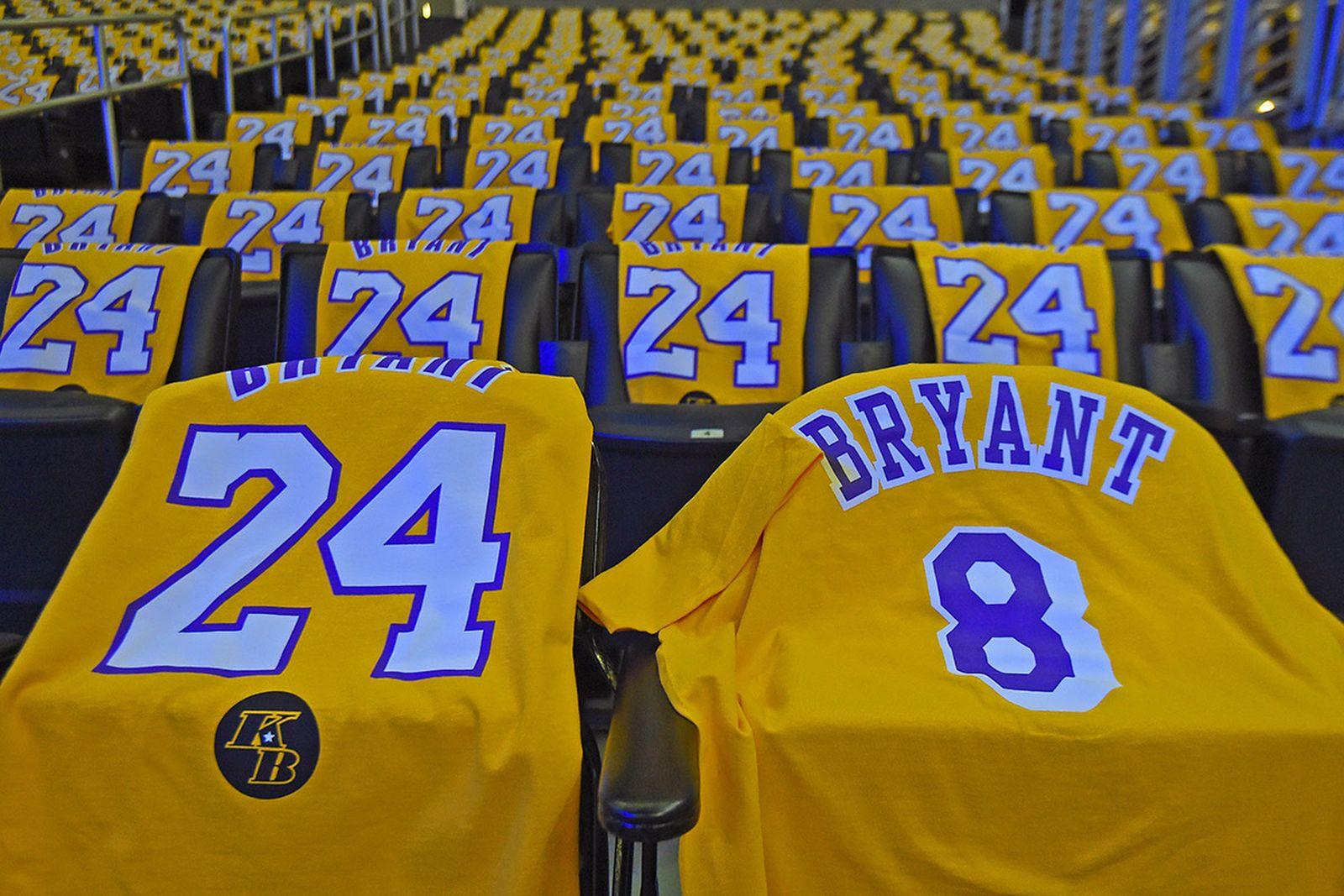 Los Angeles Lakers Kobe Bryant shirts