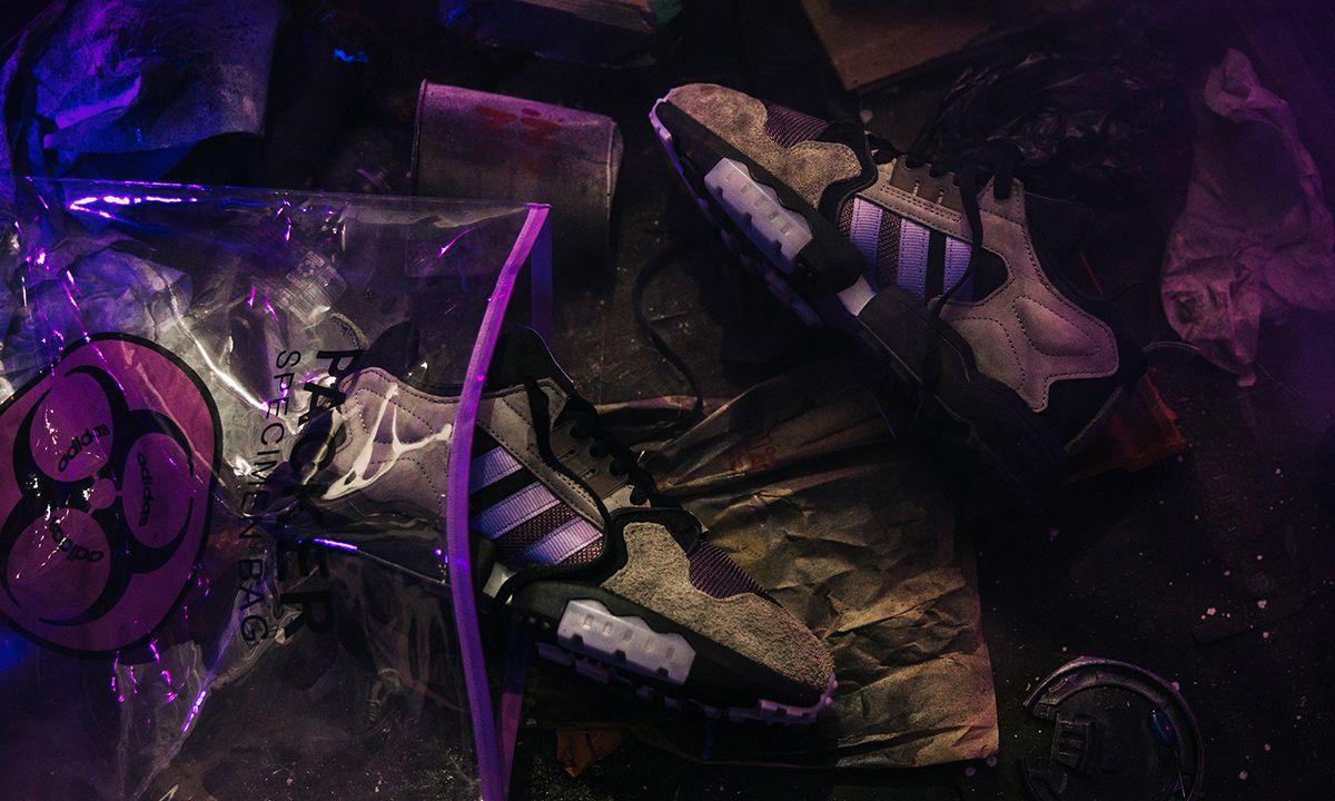 """Packer Explores a Hazardous Environment With adidas ZX Torsion """"Mega Violet"""""""