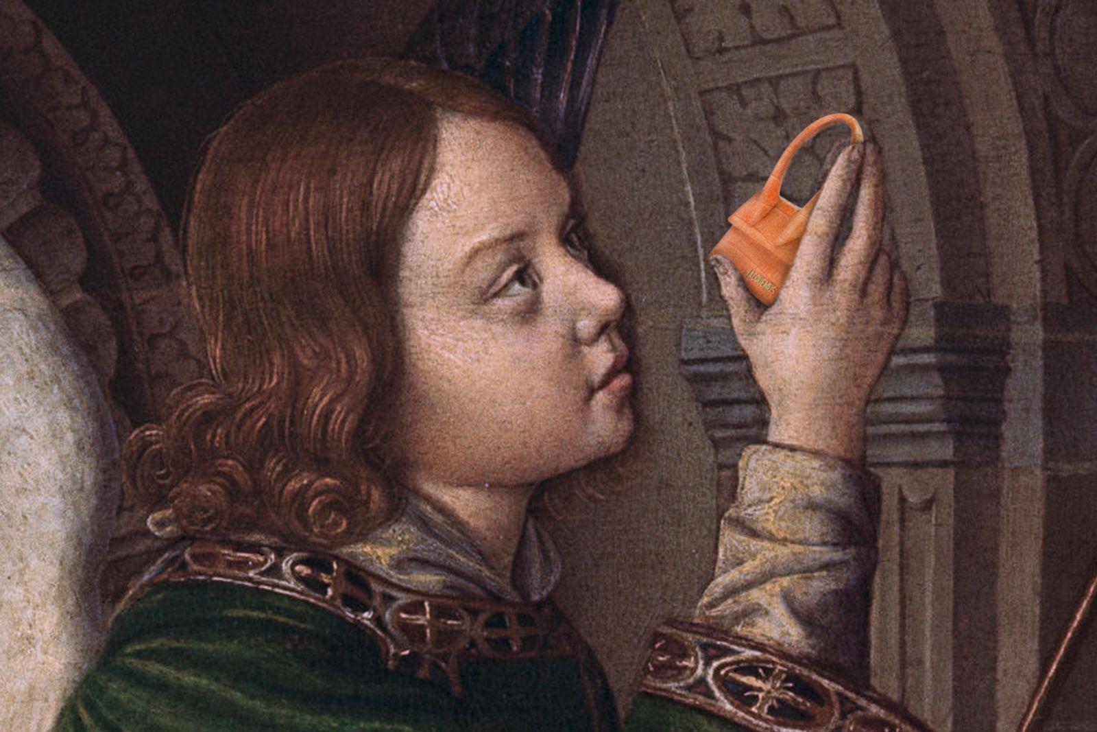 Jacquemus Small Orange Bag Le Saq Chiquito