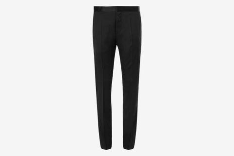 Gilan Slim-Fit Super 120s Virgin Wool Tuxedo Trousers