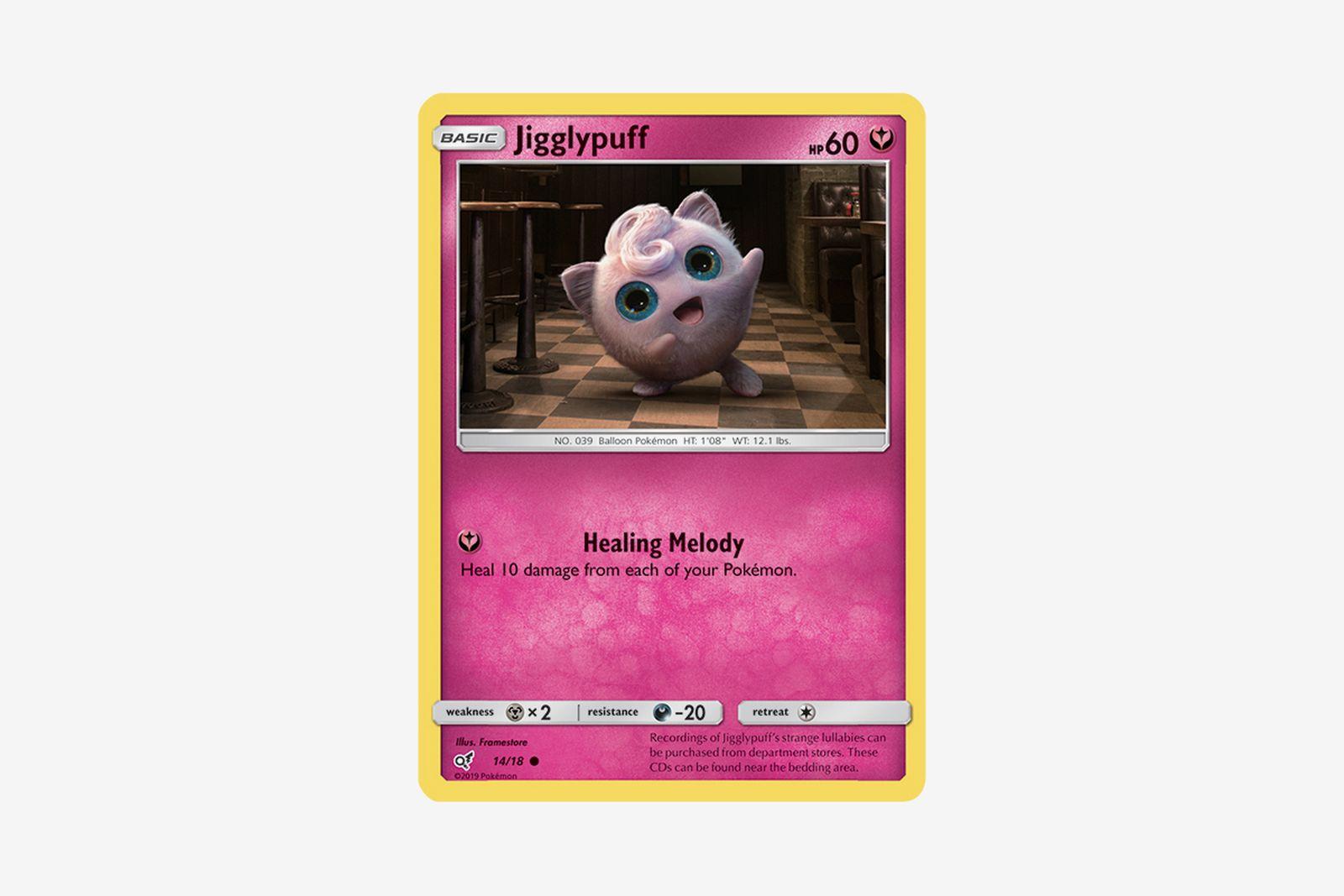 detective pikachu pokemon cards