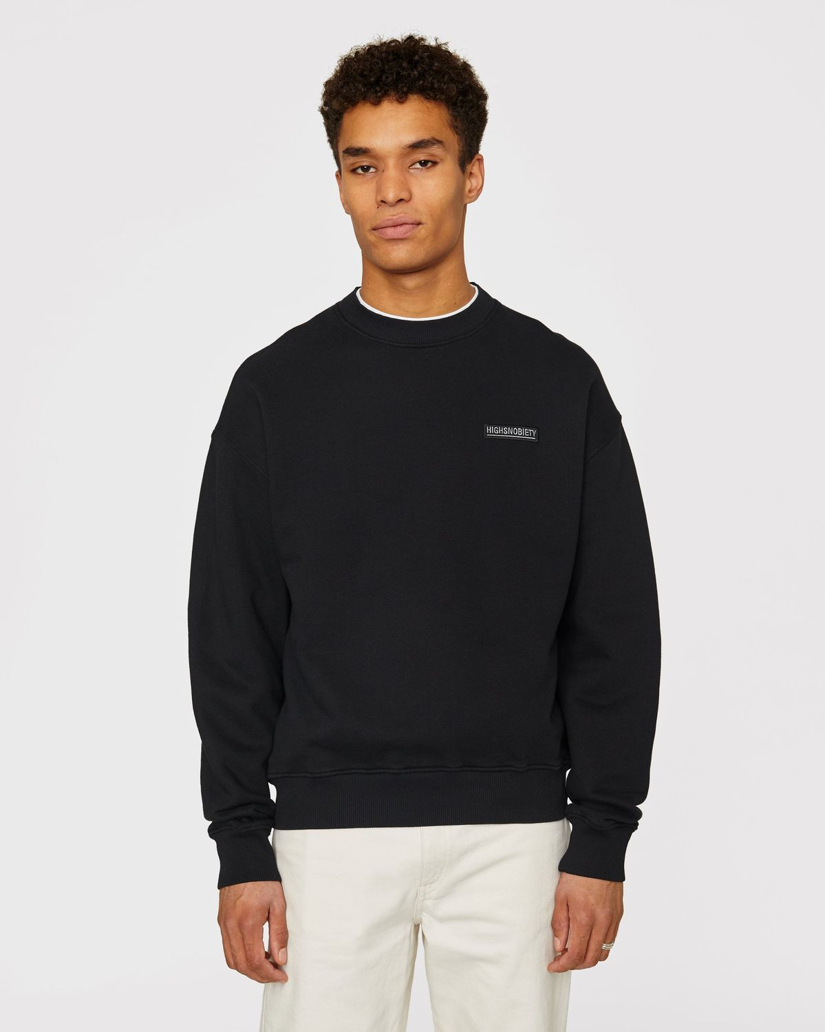 Highsnobiety Staples - Sweatshirt Black - Image 2