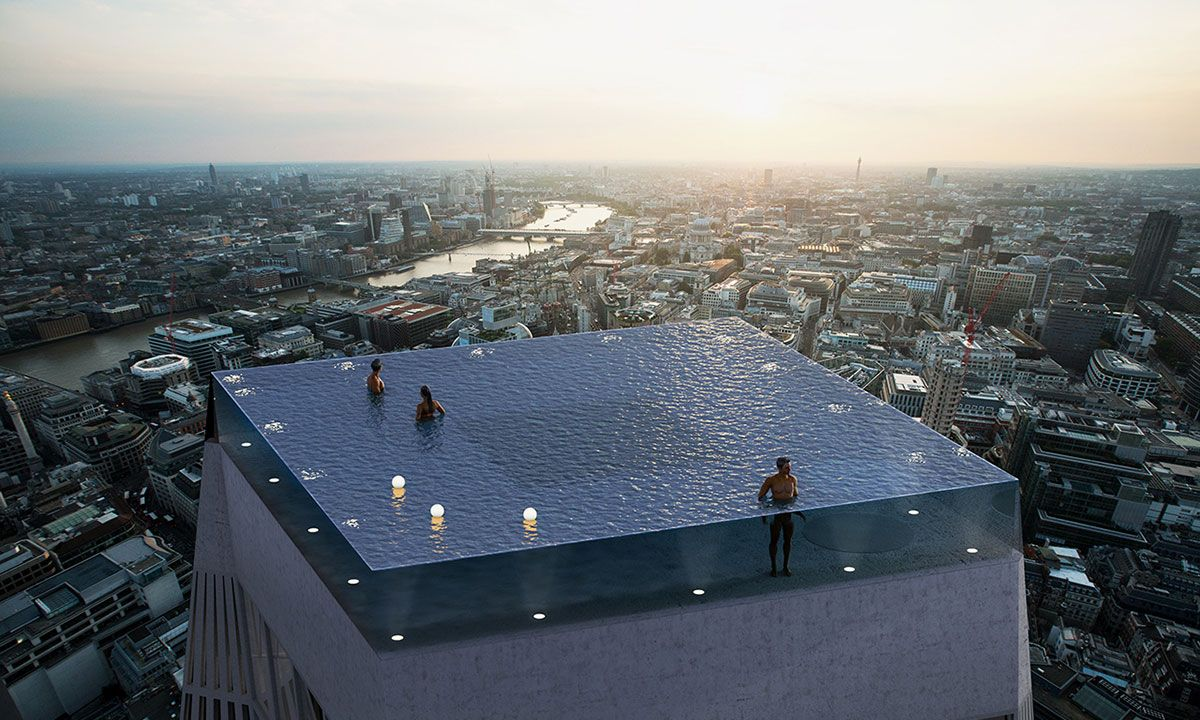 World S First 360 Degree Swimming Pool May Be Coming To London