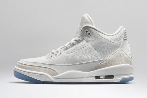 "quality design ec2a5 cd9bc Nike Air Jordan 3 ""Pure White"""