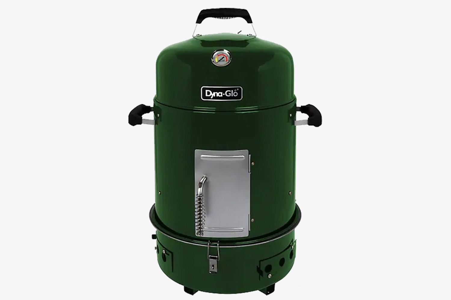 Compact Charcoal Bullet Smoker & Grill