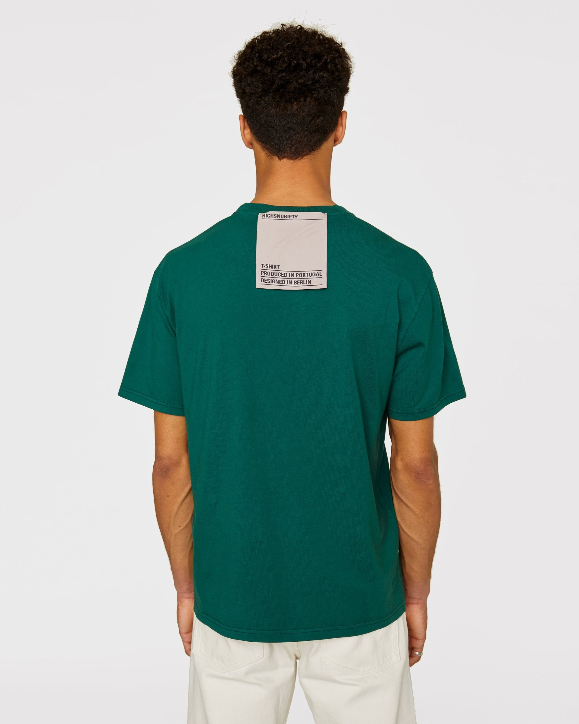 Highsnobiety Staples - T-Shirt Green - Image 3