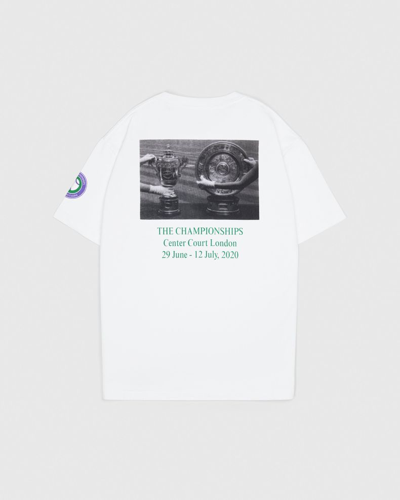 Highsnobiety —This Never Happened Tennis Tournament T-Shirt White