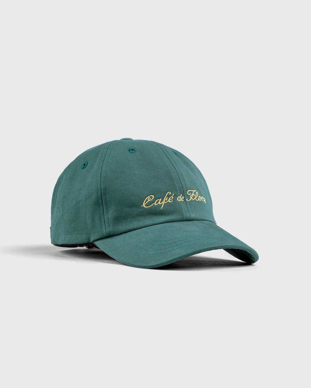 Highsnobiety — Not In Paris 3 x Café De Flore Cap Green - Image 2