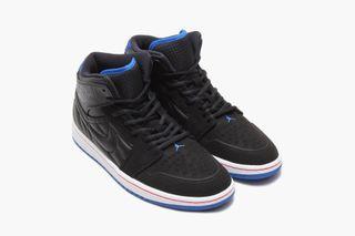 "367e7e50ba7c Air Jordan 1 Retro  99 ""Black Sport Blue Infrared"". By Alec Leach in  Sneakers  Aug 4"
