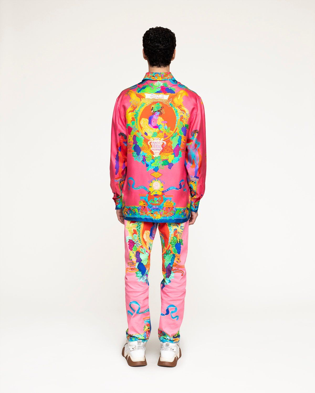 Versace —  Silk Shirt Multicolour - Image 6