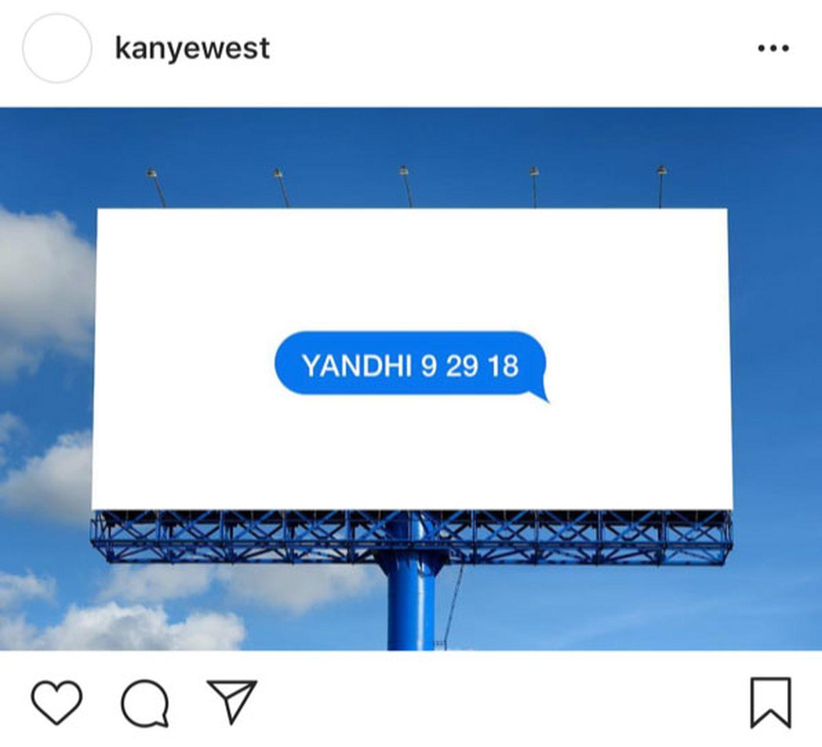 kanye west yandhi release date tracklist