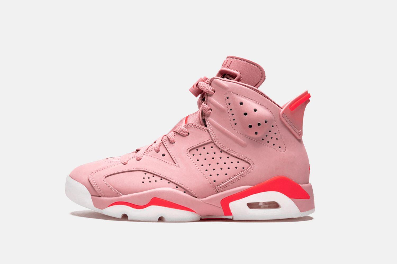 "Aleali May x Air Jordan 6 ""Millennial Pink"""
