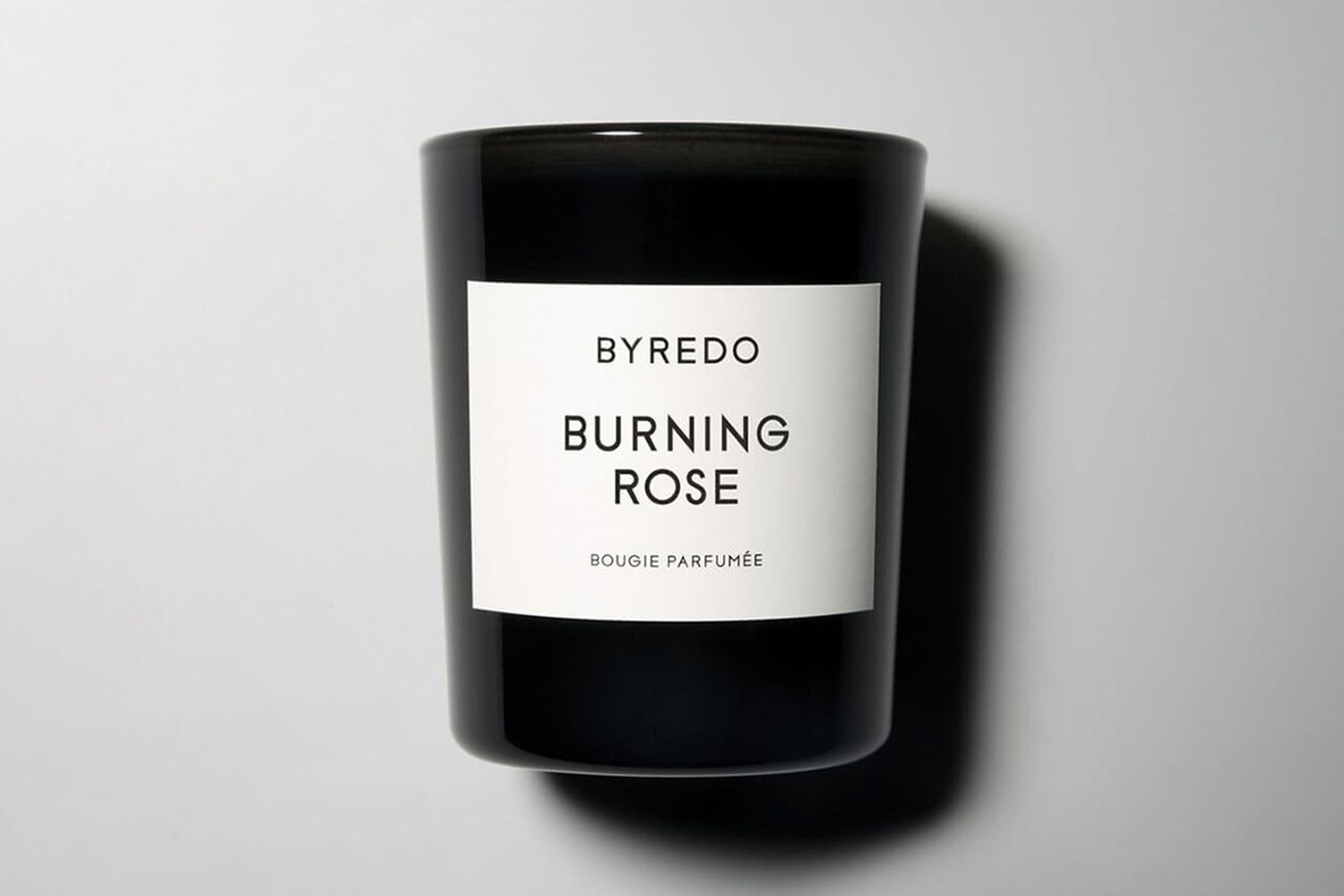 Burning Rose Candle