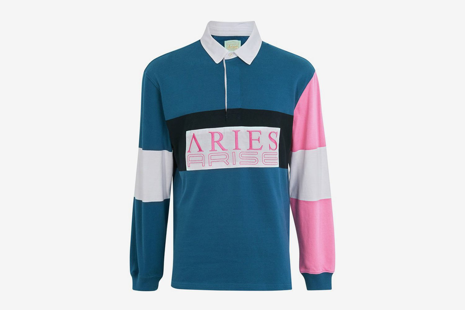 Color-Blocked Rugby Shirt