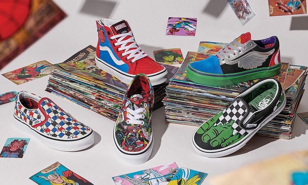 marvel x vans scarpe
