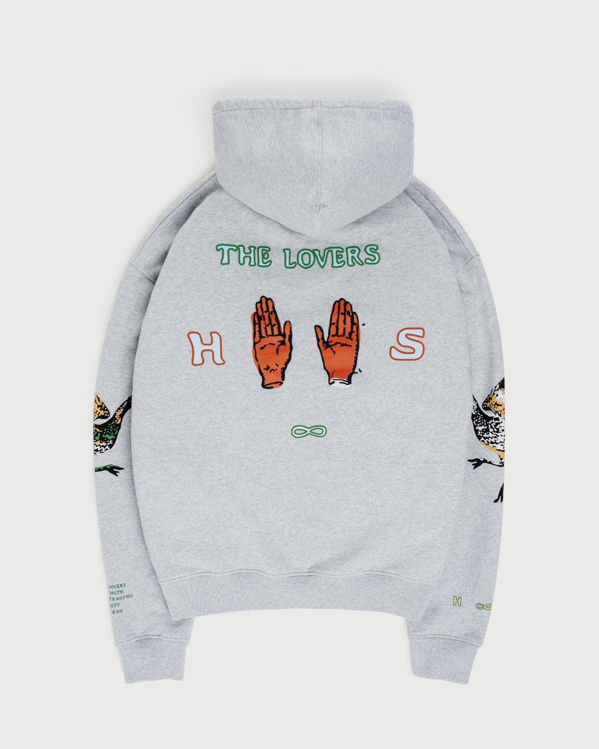 Inner Life by Highsnobiety - The Lovers Hoodie Grey - Image 1