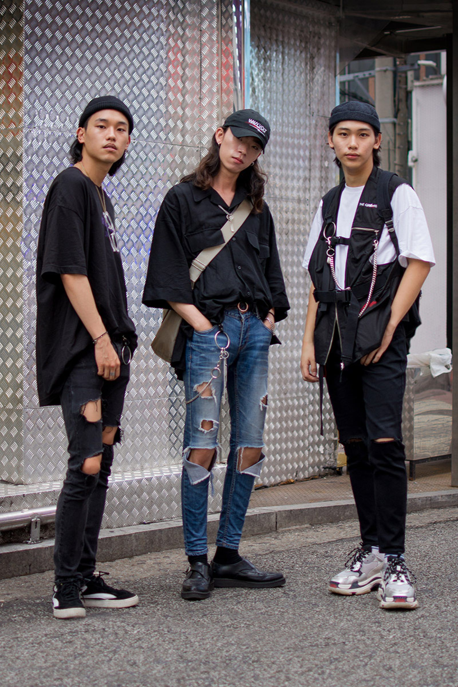 seoul street style july1 Balenciaga Children of the Discordance Gucci