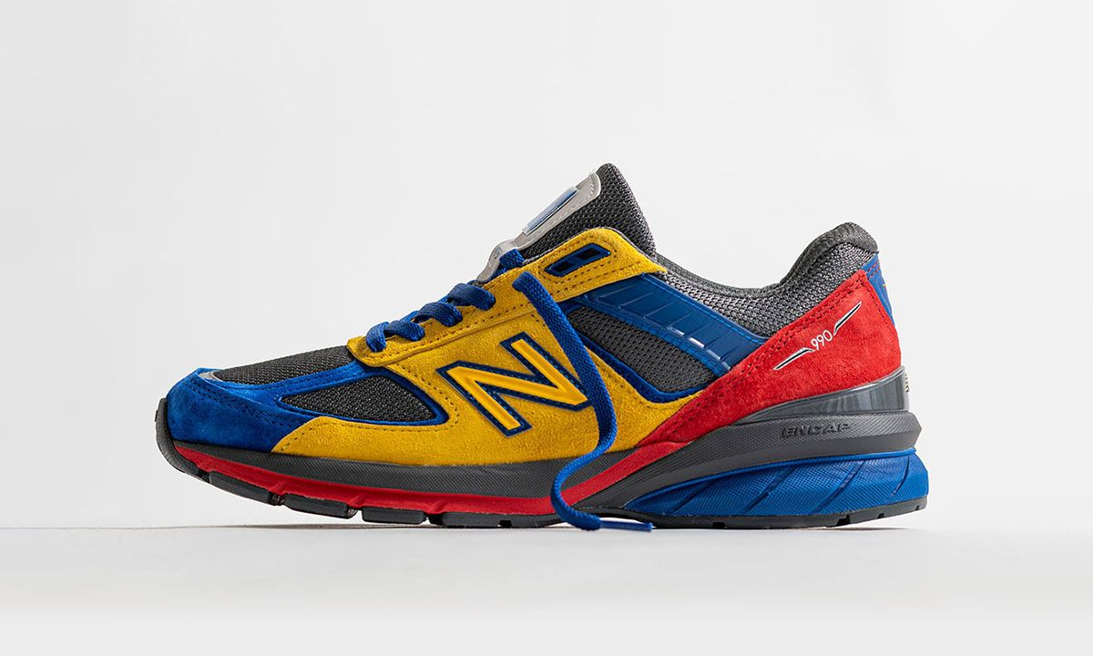 This Colorful Shoe City x EAT x New New Balance 990v5 Is All About Community