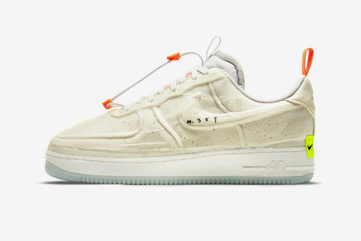 Nike's Experimental New Air Force 1 Is Covered in Foam 3