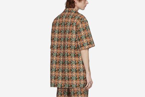 G Print Short Sleeve Shirt
