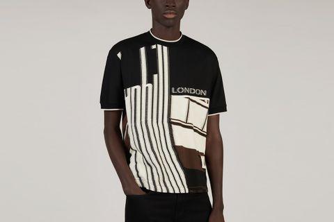 Jacquard T- Shirt