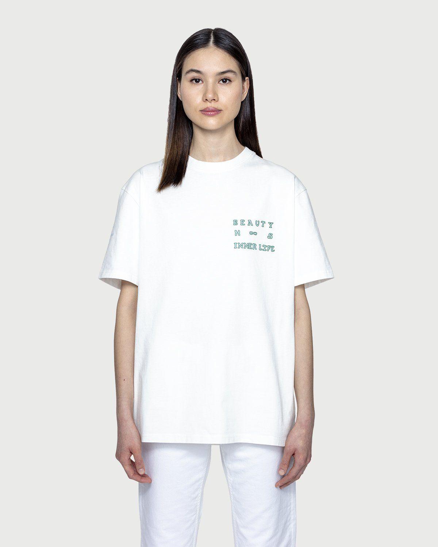 Highsnobiety — Inner Life The Beauty T-Shirt White - Image 3