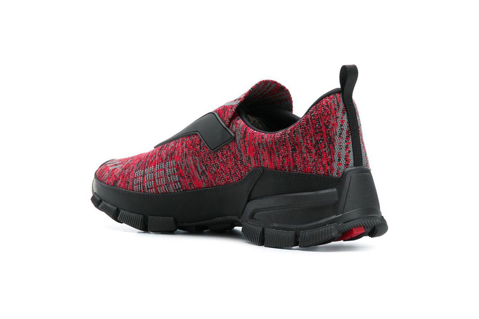 prada cross action slip on sneaker release date price info Prada Cross Action Slip-On