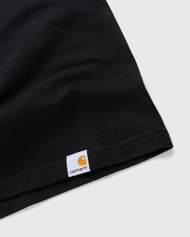Carhartt WIP – Meatloaf T-Shirt Black - Image 4