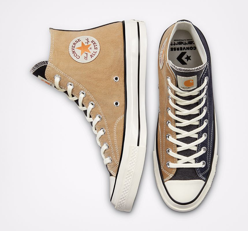 These Converse Chuck 70s Are Made From Vintage Carhartt Garments 16