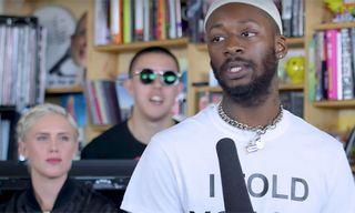 Watch GoldLink's Vibrant Set for NPR's Tiny Desk Concert