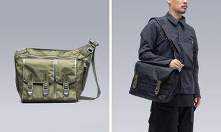 "ACRONYM Re-Ups Its Tech-Ninja ""3A"" Line of Messenger Bags"
