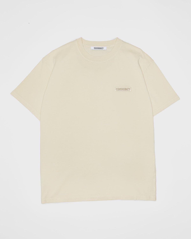 Highsnobiety Staples — T-Shirt Eggshell - Image 1