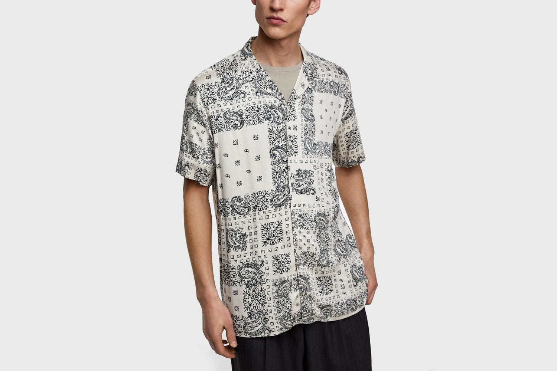 Bandana Print Shirt