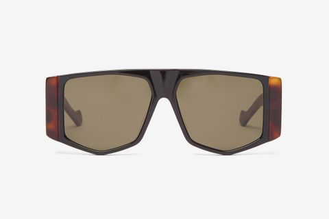 Flat-Top Acetate Sunglasses