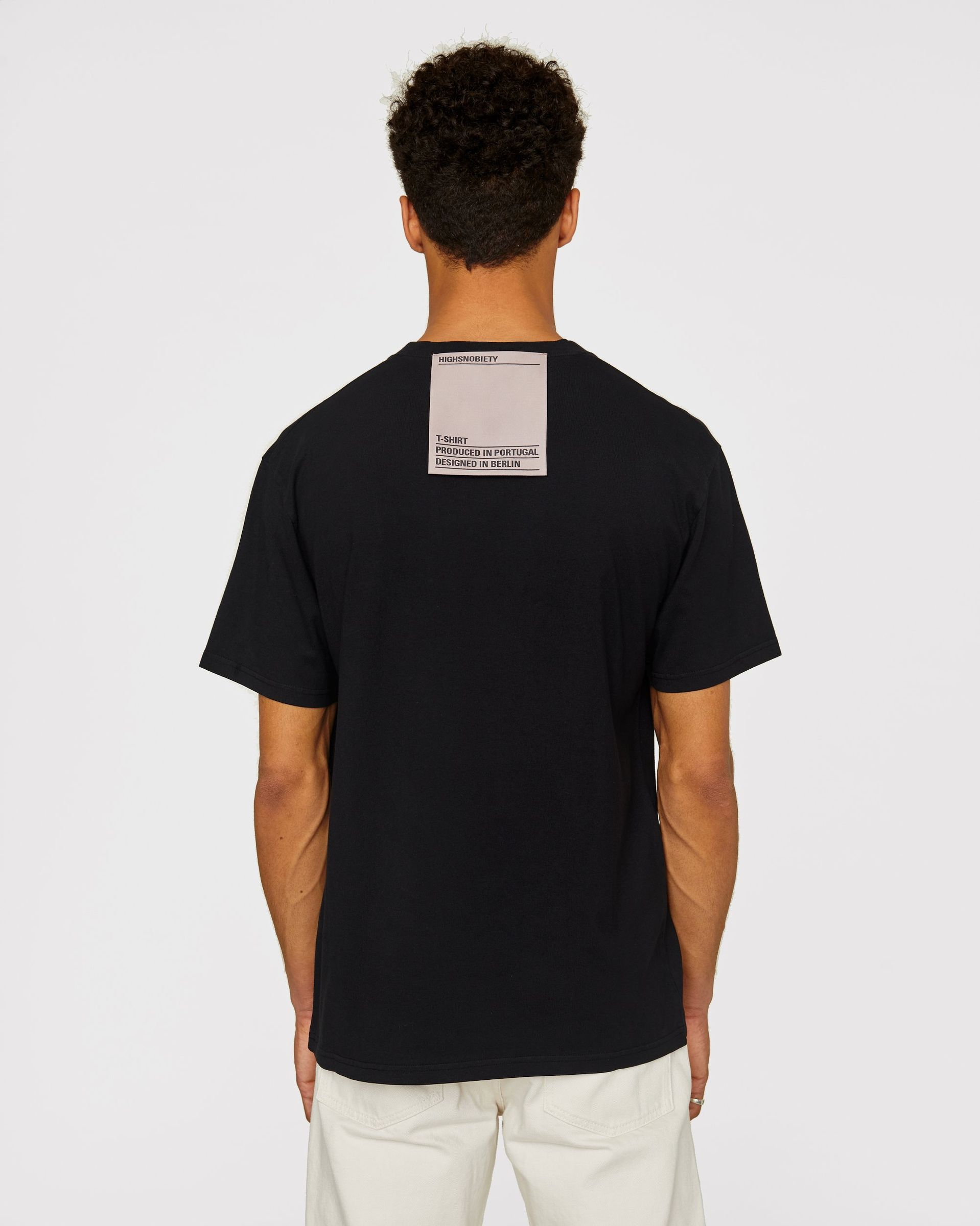 Highsnobiety Staples - T-Shirt Black - Image 3