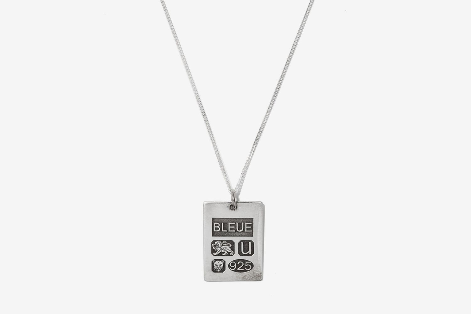 Grandfather Sterling-Silver Pendant Necklace