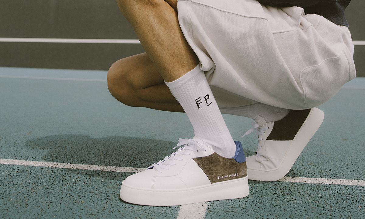 Filling Pieces' Low Plain Court Is Your New Everyday Sneaker