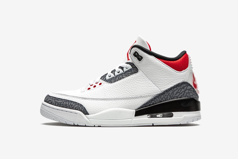 Air Jordan 3 Retro SE DNM 'Fire Red'