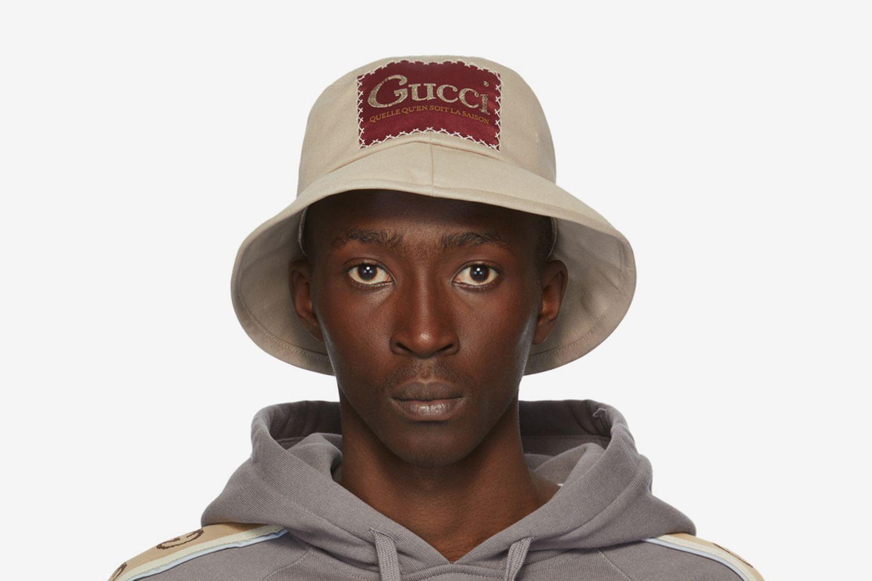 Label Bucket Hat