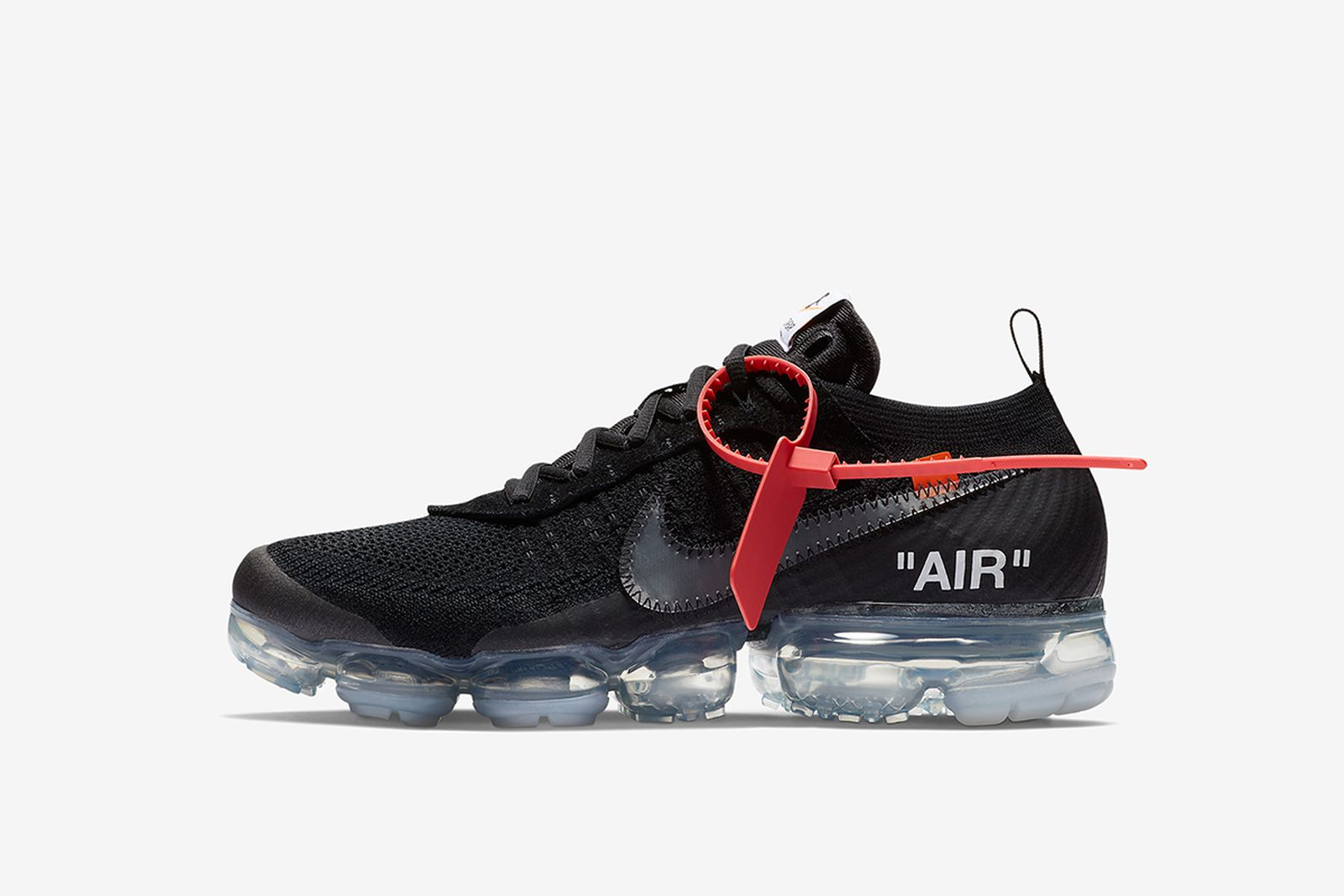 vapormax black GOAT Nike The Ten OFF-WHITE c/o Virgil Abloh
