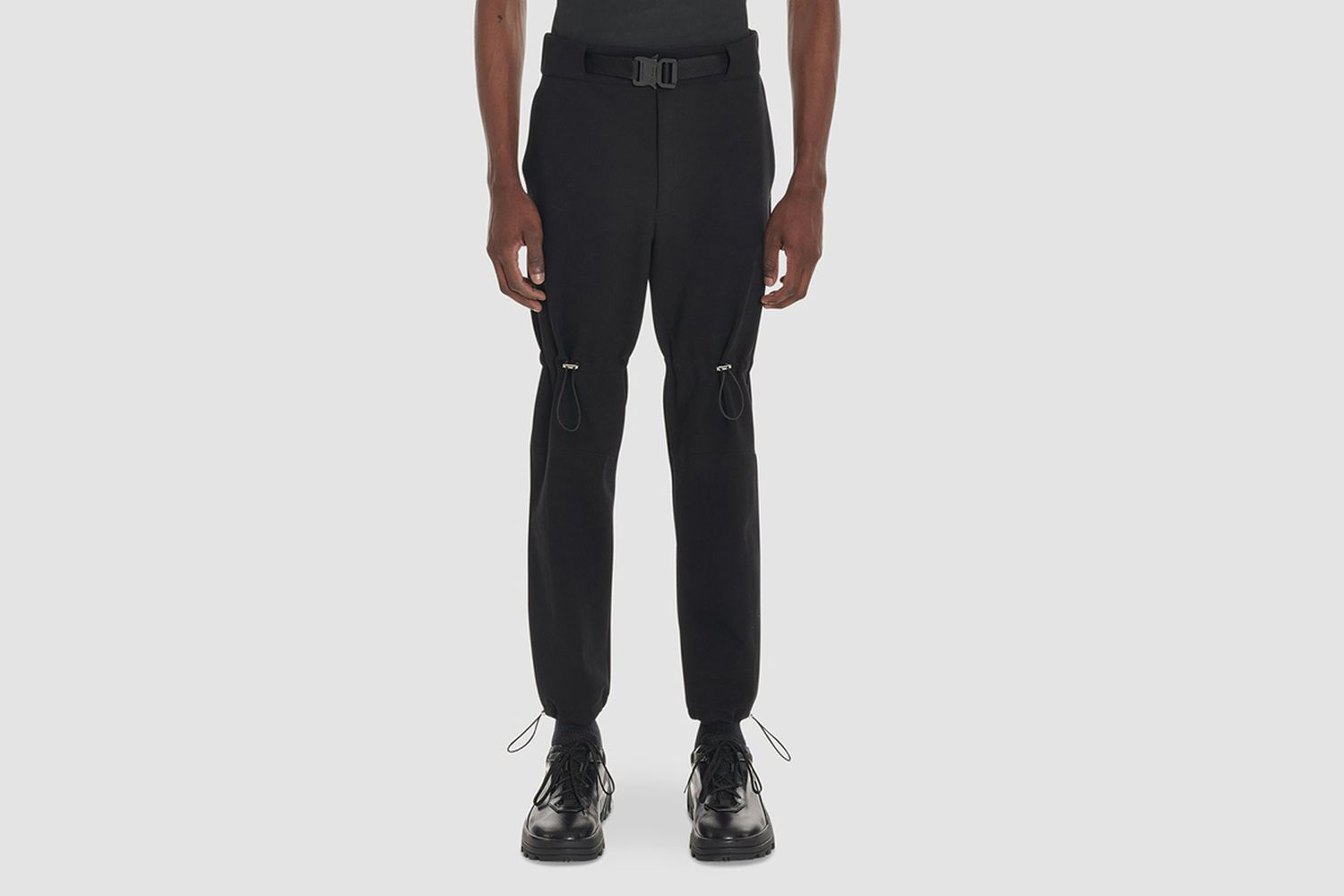 Gaiter Pant With Buckle