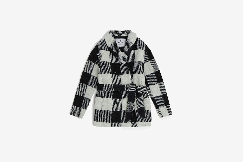 Belted Wool Coat