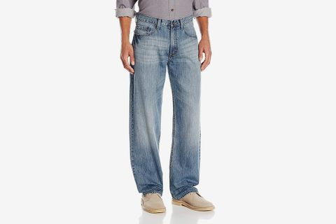 Loose-Fit Straight-Leg Jean