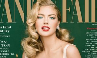Kate Upton Channels Marilyn Monroe for Vanity Fair's 100th Anniversary Issue