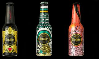 WARSTEINER Art Collection Bottles by Stefan Strumbel, Aaron De La Cruz, INSA and More