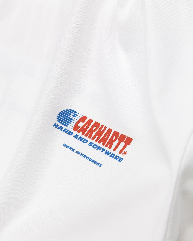 Carhartt WIP – Software T-Shirt White - Image 3