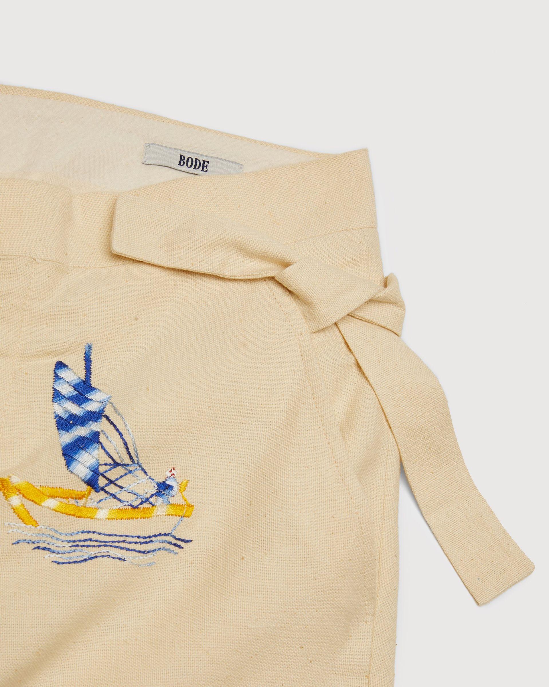 BODE - Sailing Tableau Trousers Tan - Image 4