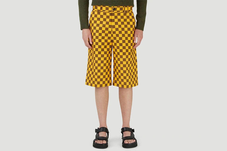 Checkered Skater Pants